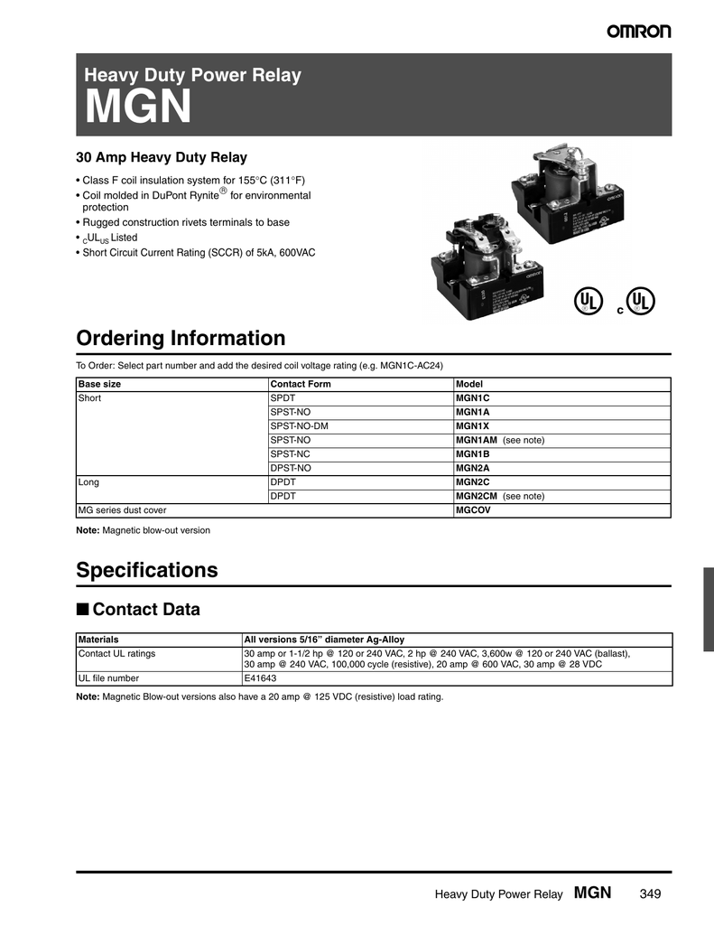 Heavy Duty Power Relay Mgn Current Rating 018420941 1 A917d68a3be3e8b94f12cfdac84f1c9a