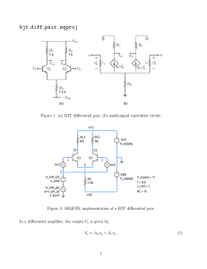Figure 7 8 Small-signal analysis of the MOS differential