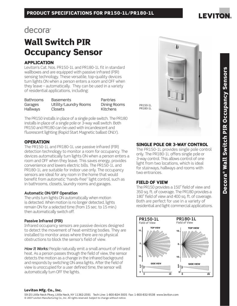 leviton occupancy sensor switch model ods10 versus pr180wall switch pir occupancy sensorleviton occupancy sensor switch model ods10 versus pr180 15