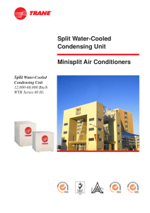 Minisplit Air Conditioners Split Water