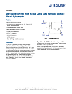 OLF500: High CMR, High-Speed Logic Gate Hermetic Surface
