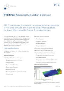 PTC Creo Advanced Simulation Extension