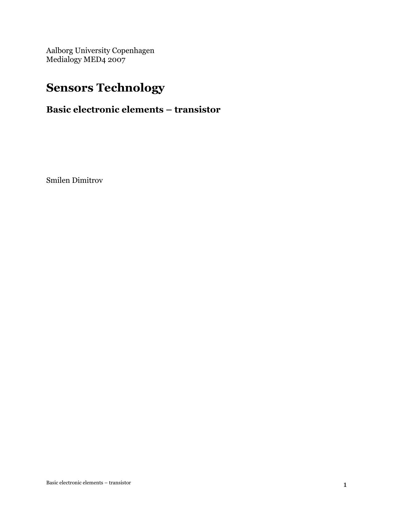 Transistors Input And Output Coupling Bipolar Junction Electronics