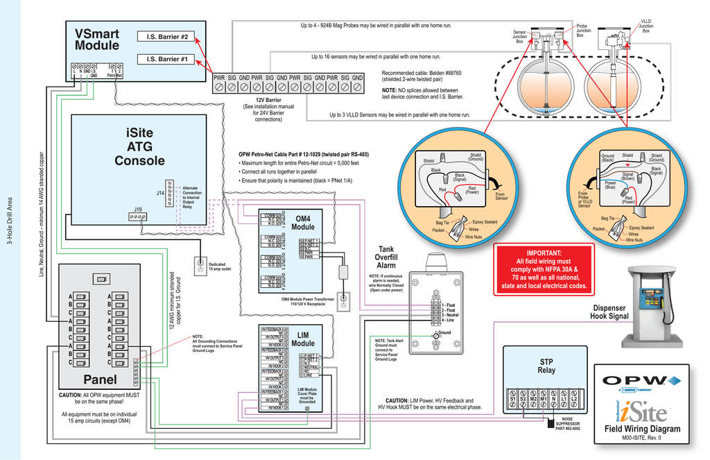 iSite Field Wiring Diagram on