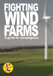 Fighting Wind Farms
