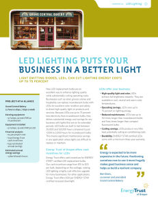 led lighting puts your business in a better light