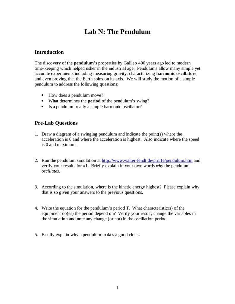 Uncategorized Simple Harmonic Motion Worksheet pendulum period equation jennarocca shm motion derivation lab n the pendulum