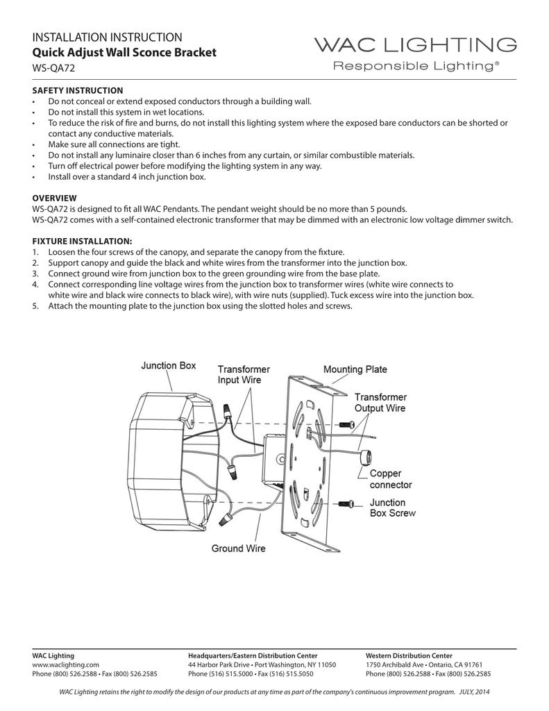 Installation Instruction Quick Adjust Wall Sconce Bracket No Wiring Sconces 018427083 1 A23cf68ef780749f6ed056c58ee6d7fd