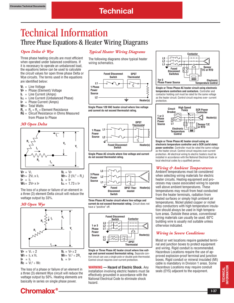 018427275_1 dffb45d4016abd9495254c1bb0ffc612 chromalox three phase equations and heater wiring diagrams chromalox heaters wiring diagram at edmiracle.co