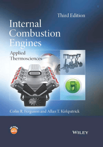 Internal Combustion Engines: Applied Thermosciences: Third Edition