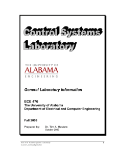 General Laboratory Information