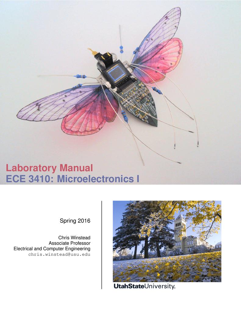 Laboratory Manual ECE 3410: Microelectronics I