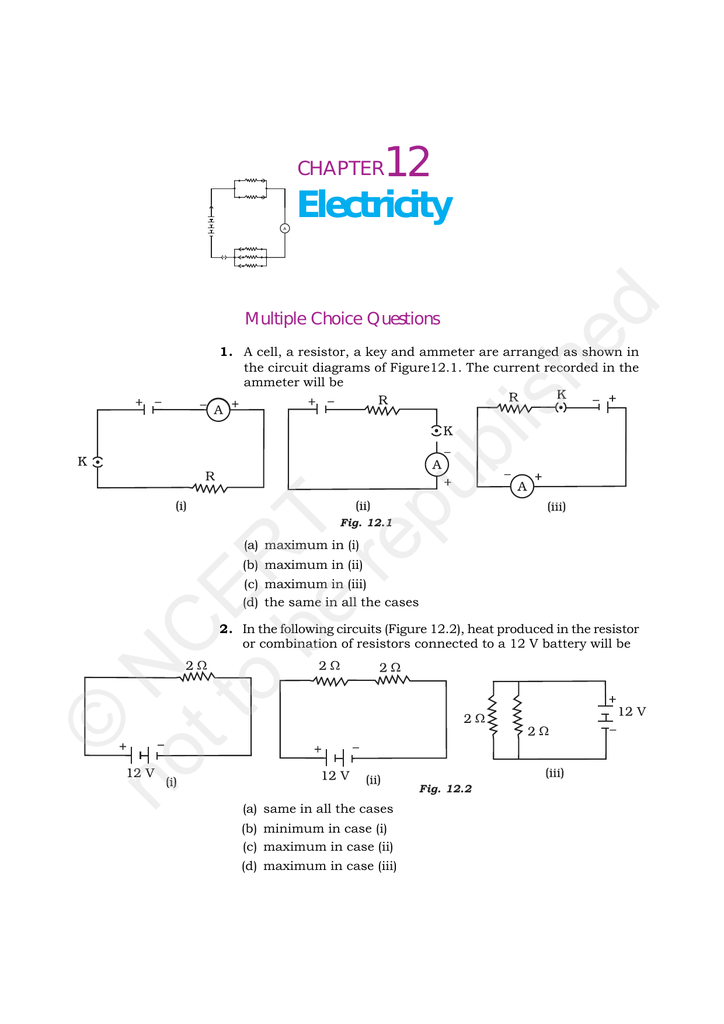 connected battery to ammeter essay