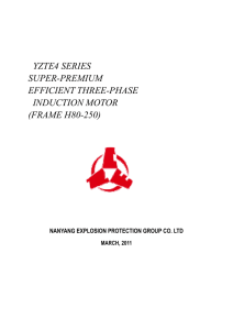 YZTE4 SERIES SUPER-PREMIUM EFFICIENT THREE