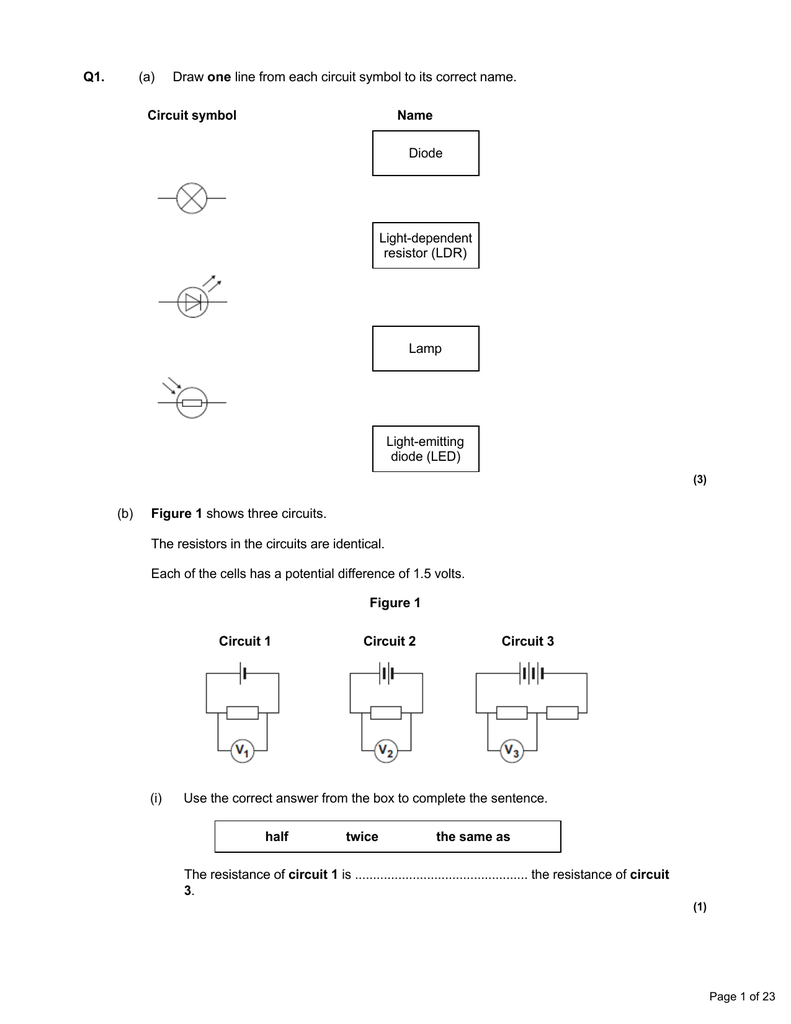 Circuit As For Homework File