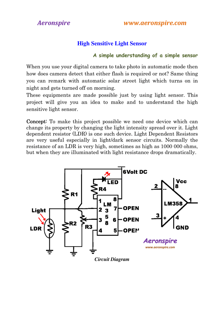 Colorful Light Dark Sensor Circuit Ornament - Electrical and Wiring ...