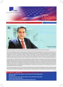 Amcham Newsletter April 2015 - Final.indd