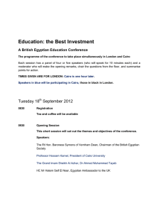Education: the Best Investment