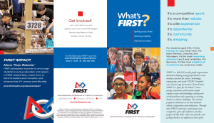 What`s FIRST brochure Updated 12/22
