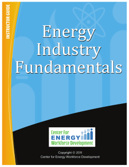 EIF Module 5 - Instructor - Center for Energy Workforce