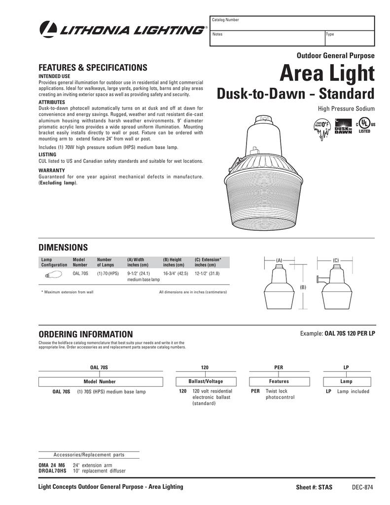 Area Light Acuity Brands