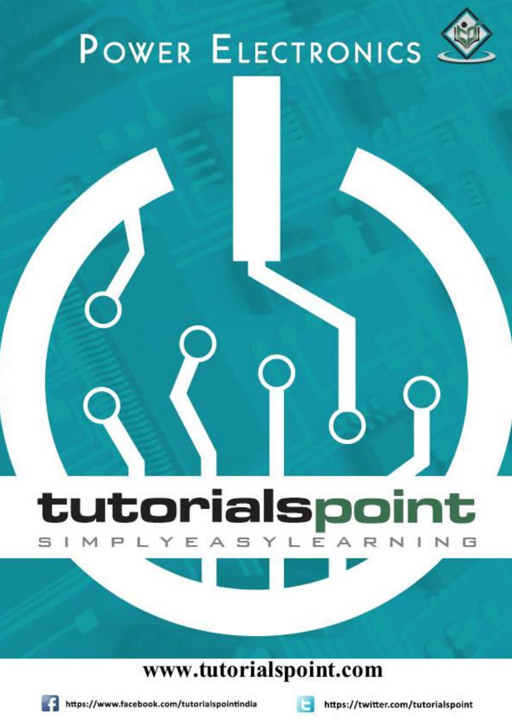 Power Electronics Tutorial (PDF Version)