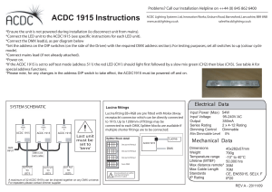 ACDC 1915 Instructions