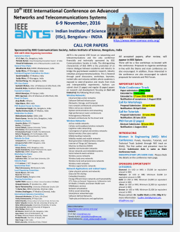 10 IEEE International Conference on Advanced 6