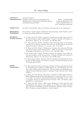Resume - Indian Institute of Information Technology, Design and