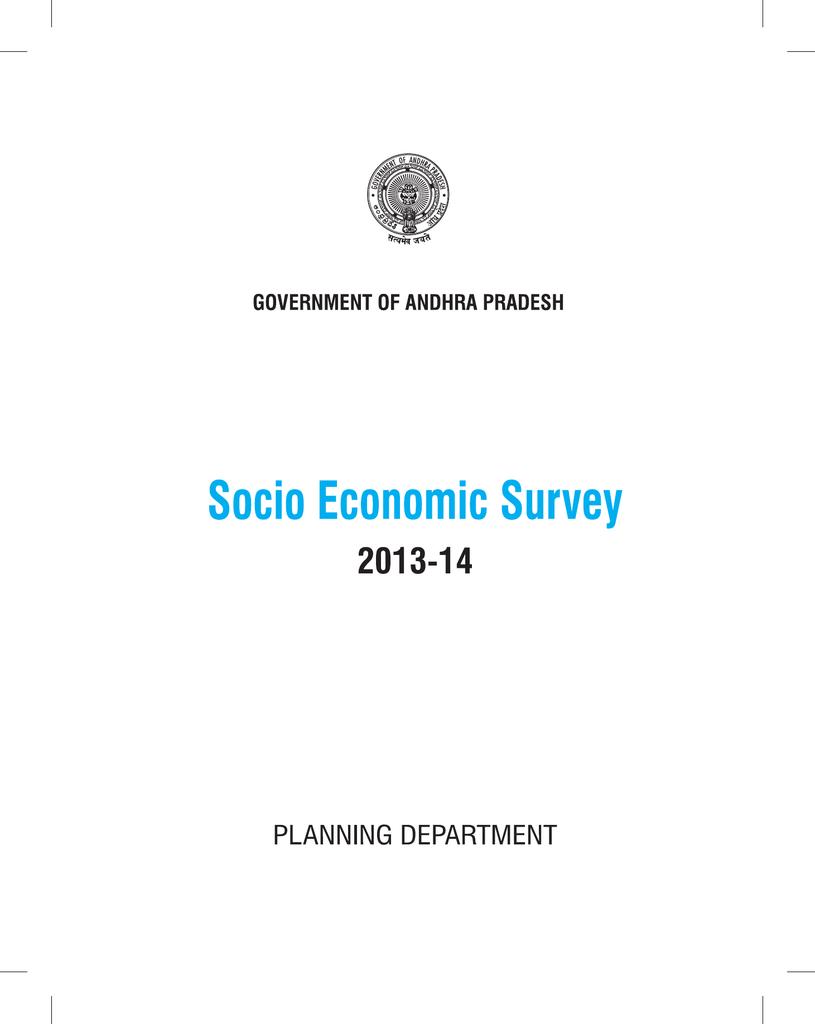 Socio Economic Survey