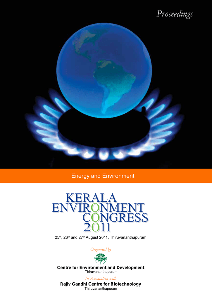 Energy And Environment Center For Environment And Development
