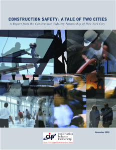 construction safety: a tale of two cities