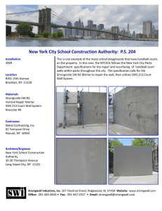 New York City School Construction Authority: PS 204