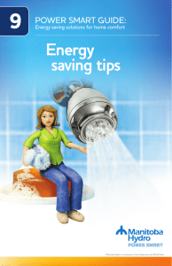How-To Booklet 9 - Energy Saving Tips