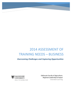 Training Needs Assessment Business