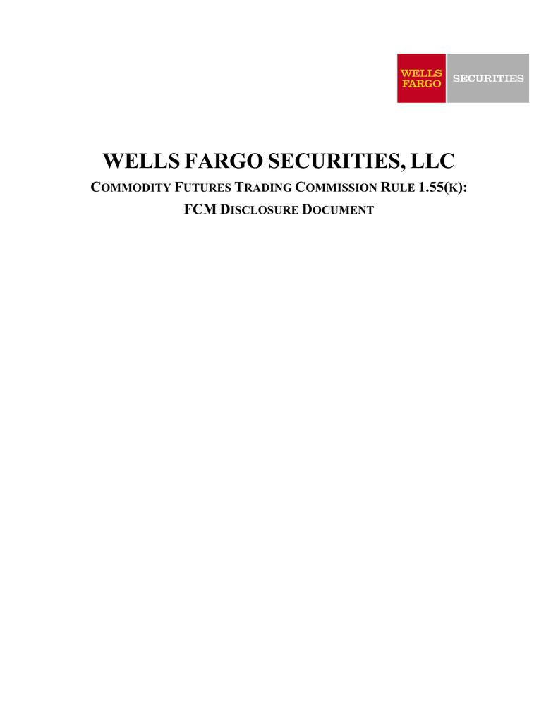 FCM Disclosure Document