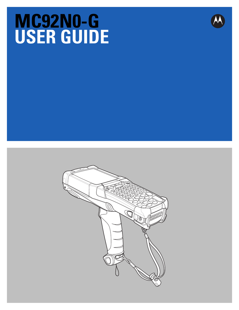 MC92N0-G User Guide - Portable Technology Solutions