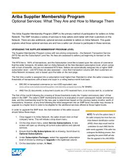 ariba document management