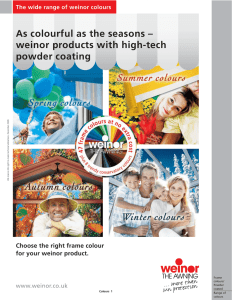 weinor products with high