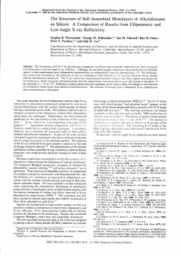 Reprinted from the Journal of the American Chemical Society, 1989