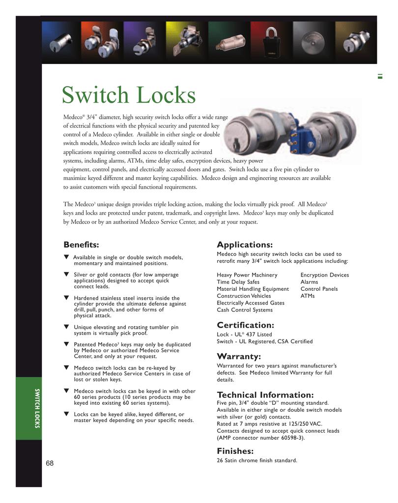 Switch Locks