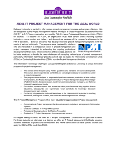 Real IT Project Management for the Real World