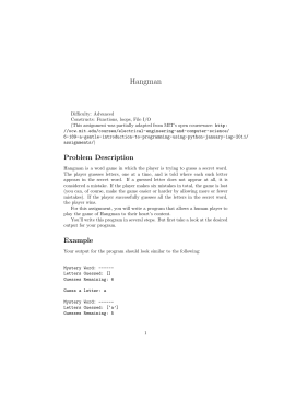 Activity element hangman intermediate lesson department of computer science ibookread ePUb