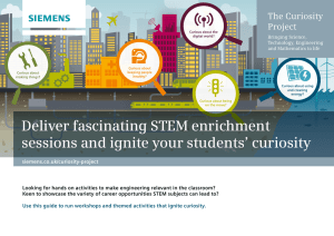 Deliver fascinating STEM enrichment sessions and ignite