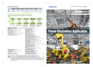 Power Electronics Application