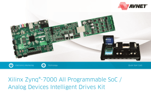 Xilinx Zynq®-7000 All Programmable SoC / Analog Devices