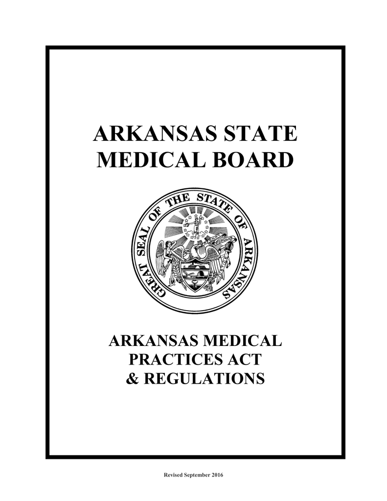 arkansas medical practices act and regulations Office Manager Resume Sample Clinical Research