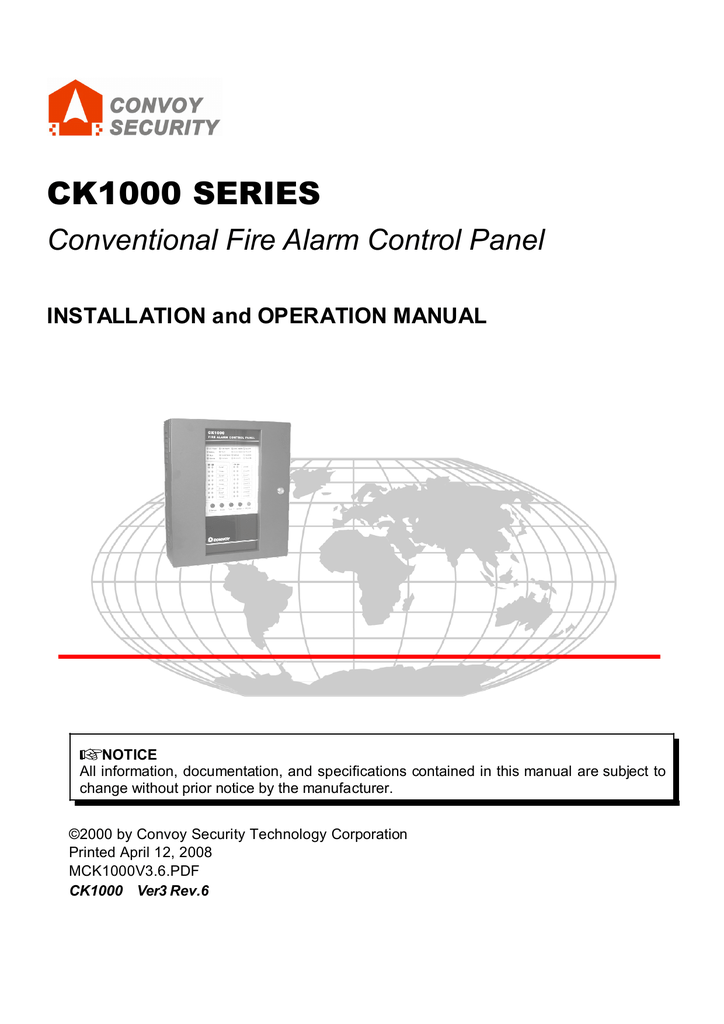 Ck1000 Fire Alarm Control Panel Expert In Fire Alarm System