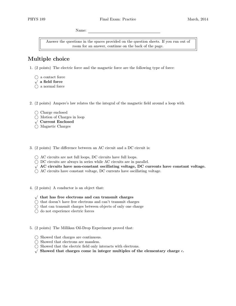 Solution - Physics