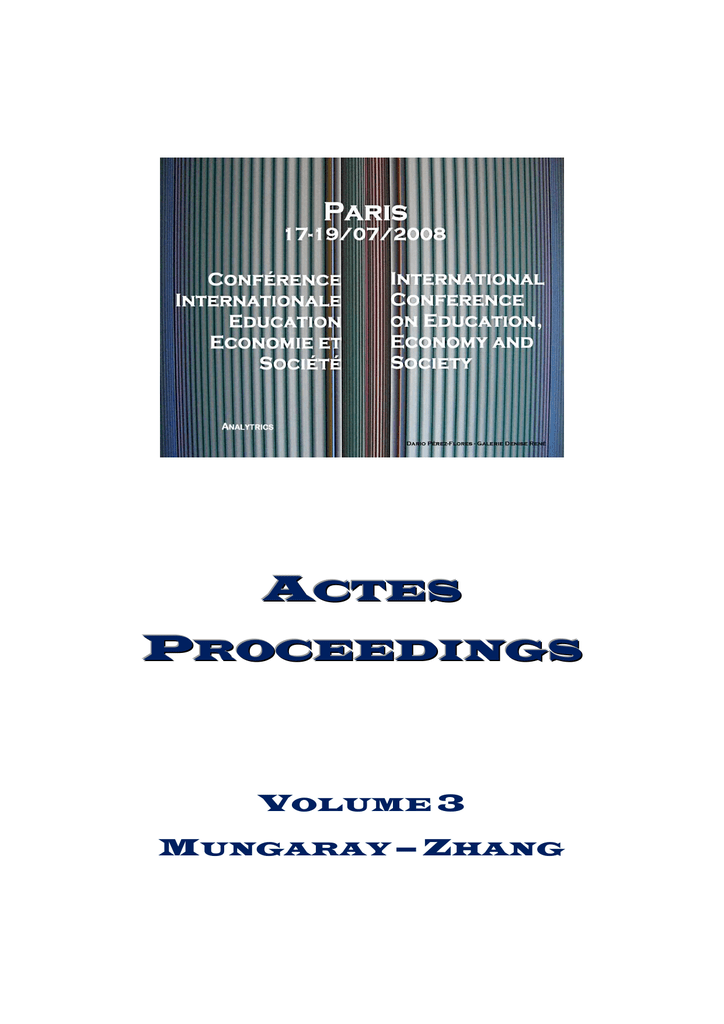 Proceedings Volume 3